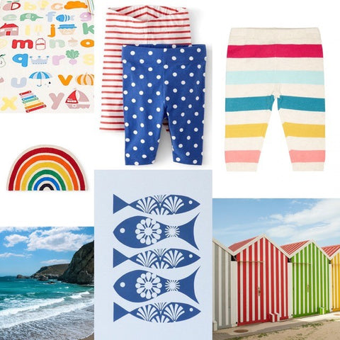 Children's leggings free sewing pattern mood board