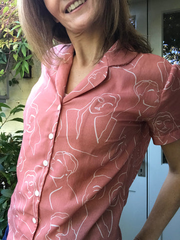Juliette Blouse by Ripubique du shiffon