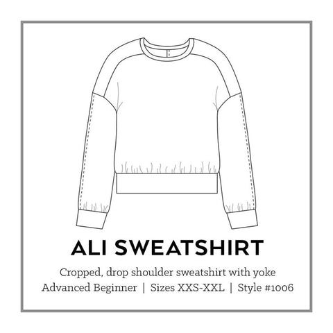 Sew DIY Ali Sweater