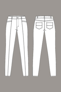 Named Clothing - JAMIE Jeans Sewing Pattern