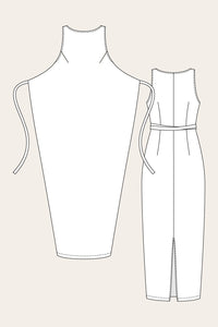 Named Clothing - KIELO Wrap Dress Sewing Pattern