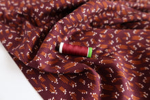 Cotton and Steel - Hermione Plum Rayon Fabric