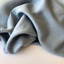 Grandeur Colonial Blue Viscose Twill Dress Fabric