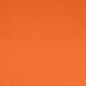 Inspire Rust Solid Viscose Jersey Fabric