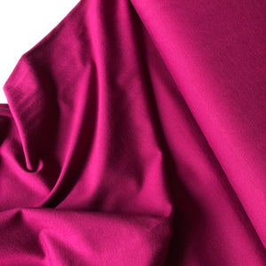 Essential Chic Magenta Cotton Jersey Fabric