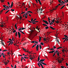 Danish Design - Water Lilies Red Viscose Jersey