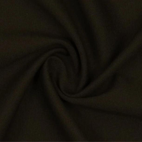 Brown Viscose Ponte Roma Double Knit Fabric