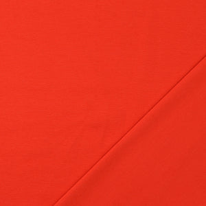 Essential Chic Scarlet Red Cotton Jersey Fabric