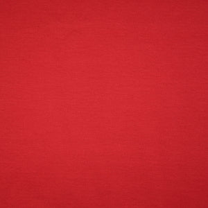 REMNANT 0.35 meter Essential Chic Red Wine Plain Cotton Jersey Fabric
