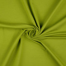 Essential Chic Meadow Grass Green Cotton Jersey Fabric