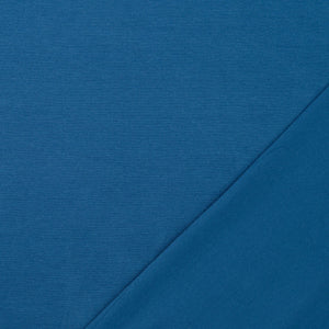 Essential Chic Oxford Blue Cotton Jersey Fabric