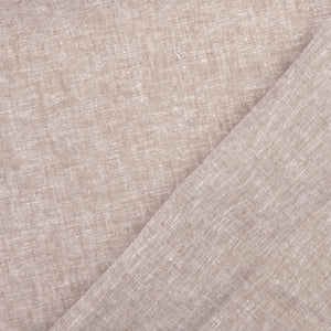 Sepia Linen Cotton Blend Fabric