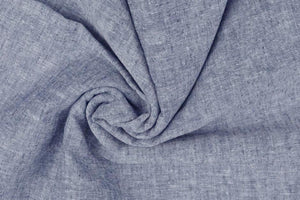 REMNANT 0.56 meter Grey Linen Cotton Blend
