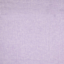 Lilac Linen Cotton Twill Stripes