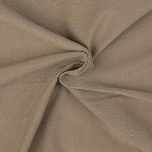 Essential Fallow Plain Cotton Spandex Jersey Fabric