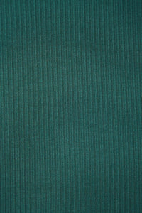 Derby Ribbed Jersey Emerald with TENCEL™ Modal Fibres