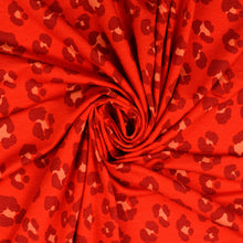 Leo Red Viscose Jersey