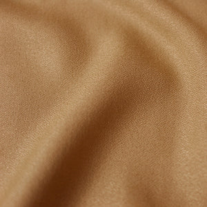 Atelier Brunette -  Crepe Viscose Ochre Dress Fabric