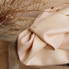 REMNANT 2 meters Atelier Brunette -  Crepe Viscose Blush Fabric (WITH LITTLE FAULT)
