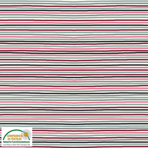 Stof - Stripes Cotton Jersey