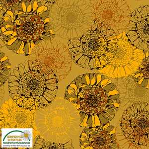 Danish Design - Sunflowers Cotton Jersey