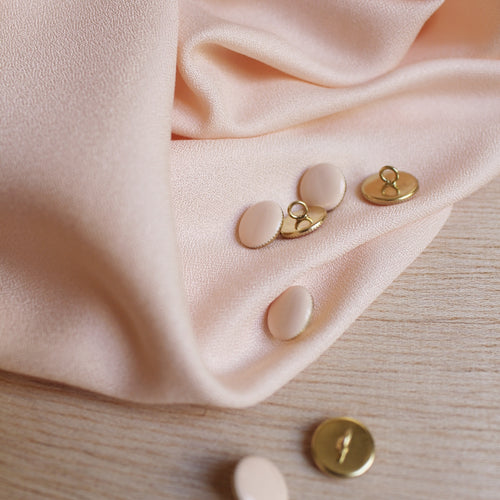 Atelier Brunette - Crepe Viscose Powder Dress Fabric