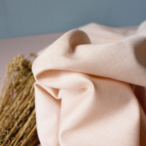 Atelier Brunette - Blush Linen Fabric