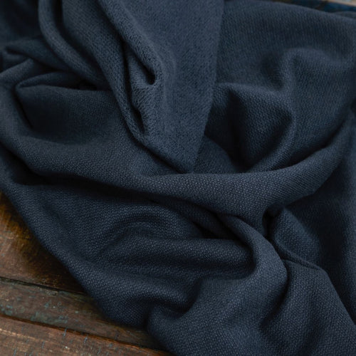 Mind The MAKER - Organic Cotton Cashmere Fleece Sweat Indigo Night