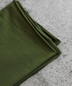 Green Khaki Organic Single Stretch Jersey