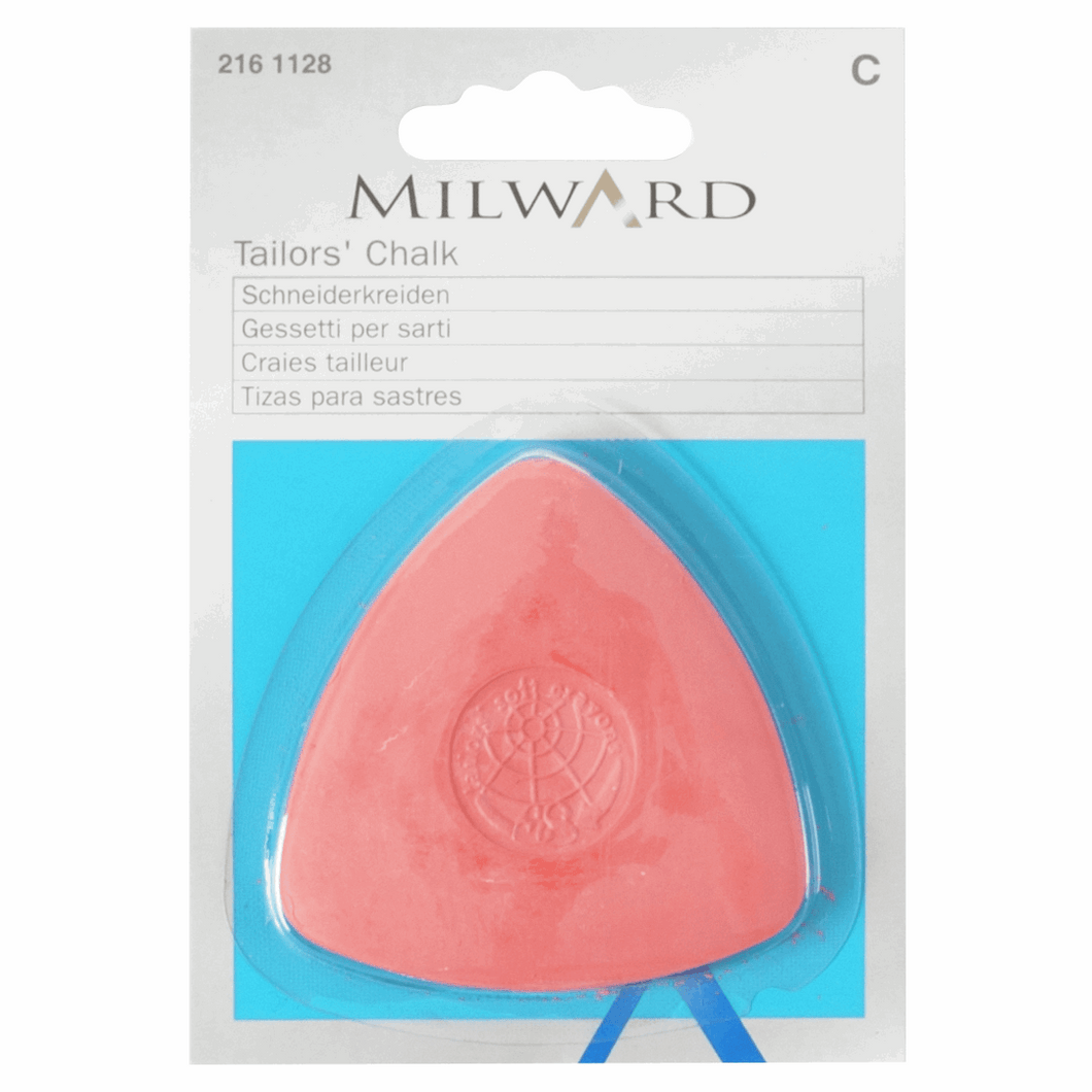 Milward Tailors Chalk  - Red