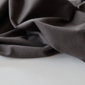 Essential Chic Charcoal Cotton Jersey Fabric