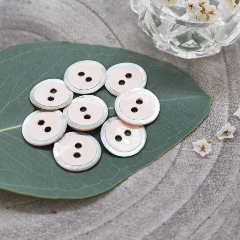 Atelier Brunette - Halo Buttons - Powder