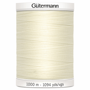 Gutermann Sew All Thread 1000 meter spool