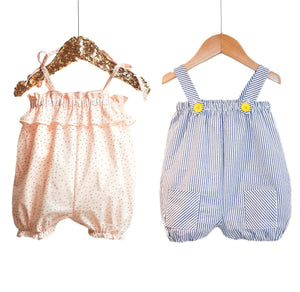 Ikatee - VOLANTIS Tank Rompers - Baby 1/24M - Paper Sewing Pattern