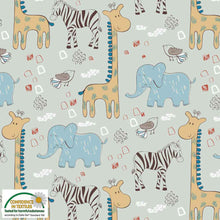 Danish Design - Trip To The Zoo Cotton Jersey