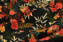 Atelier Jupe - Viscose with Colourful Jungle Print