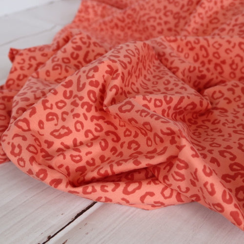 Danish Design - Leo Coral Pink Cotton Jersey Fabric