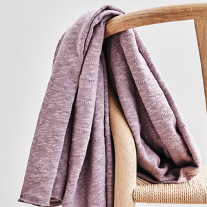 Mind The MAKER - Organic Slub Jacquard Lilac