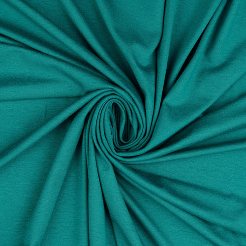 Inspire Emerald Solid Viscose Jersey