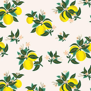 Rifle Paper Co - Citrus Blossom Lemon Rayon from Primavera