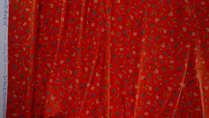 Rifle Paper Co - Petites Fleurs Red Cotton from Strawberry Fields