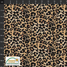 Danish Design - Leopard Brown Cotton Jersey Fabric