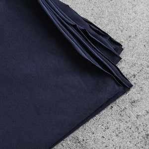 REMNANT 1.57 metres Indigo Night Organic Single Stretch Jersey