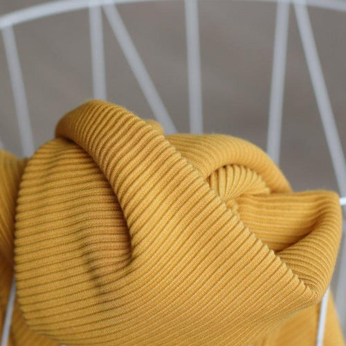 Meet MILK - Self Stripe Ottoman Knit Amber