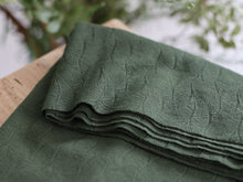Mind The MAKER - Organic Leaf Jacquard Khaki Green