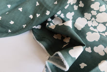 Nani IRO - Peaceful Cooing Petrol Blue Double Gauze Fabric