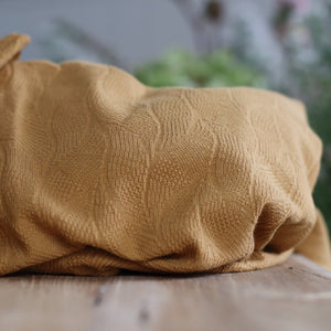 Mind The MAKER - Organic Leaf Jacquard Dry Mustard