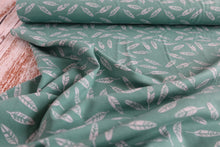 Danish Design - Floaty Leaves Cotton Jersey Fabric