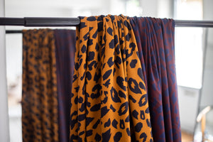 Mind The MAKER - Urban Leo Gold ECOVERO™ Viscose Twill