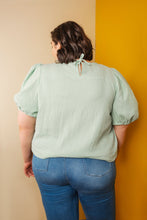 FRIDAY Pattern Co - the Sagebrush Top Sewing Pattern